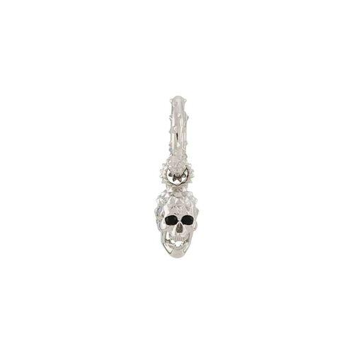 Kasun London Ohrringe mit Totenkopf - Silber Male regular