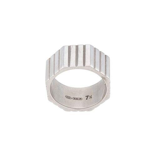 IVI Achteckiger Ring - Silber Female regular