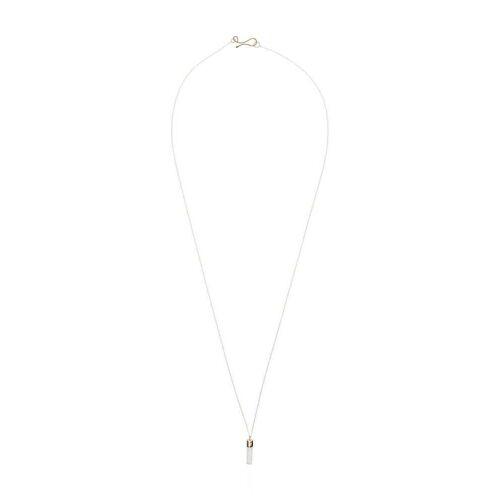 Melissa Joy Manning 14kt Halskette mit Kristallanhänger - YELLOW GOLD Male regular