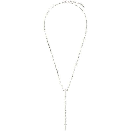 Dsquared2 Halskette im Rosenkranz-Design - Metallisch Male regular