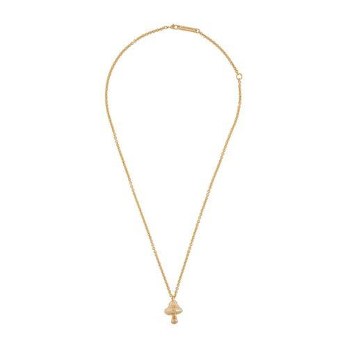 AMBUSH Halskette mit Pilzanhänger - Gold Unisex regular