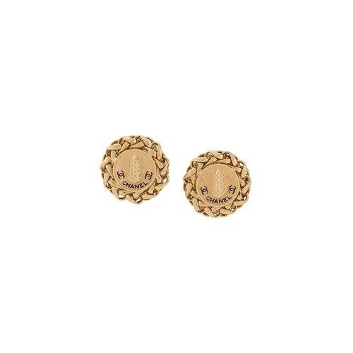 Chanel Pre-Owned 1990er Creolen mit Clipverschluss - Gold Male regular