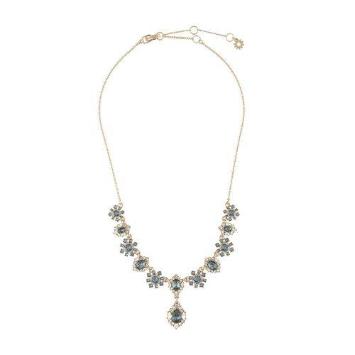 Marchesa Notte Armband mit Kristallblumen - Blau Male regular
