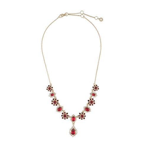 Marchesa Notte Halskette mit Kristallanhänger - Rot Female regular