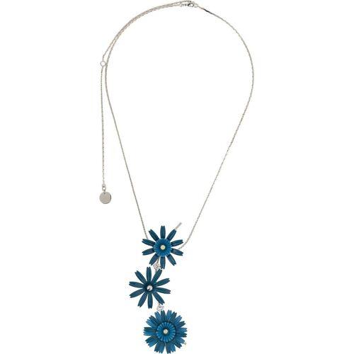 Marni Halskette mit Blumen - Blau Male regular