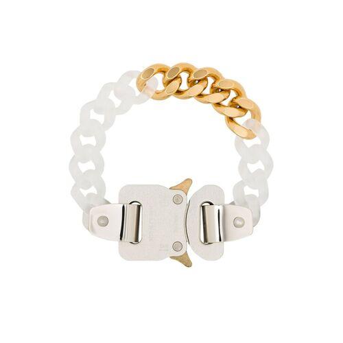 1017 ALYX 9SM Armband mit Clipverschluss - Weiß Male regular