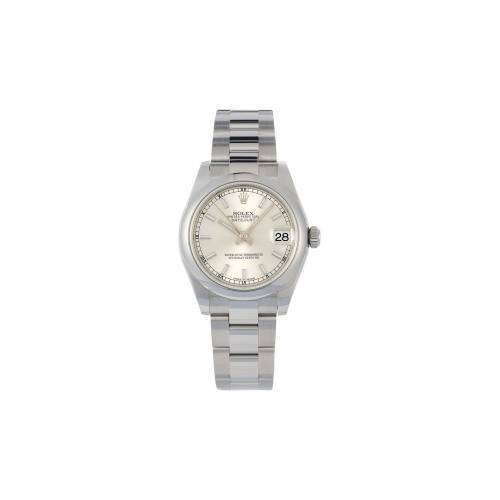 Rolex 2020 Rolex 'Oyster Perpetual Datejust' Armbanduhr, 31mm - Silber Unisex regular