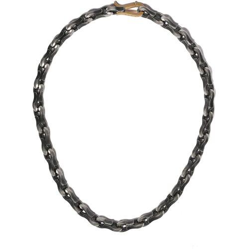 Hum Klassische Halskette - Silber Male regular