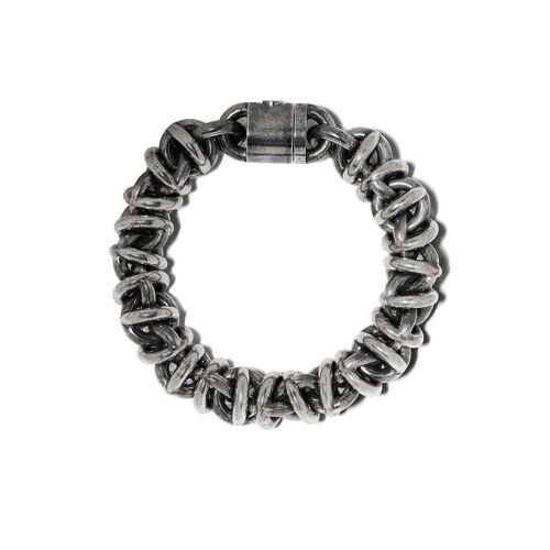 Le Gramme 'Entrelacs' Armband - Silber Female regular