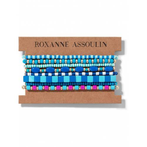 Roxanne Assoulin Color Therapy® Armband-Set - Blau Male regular