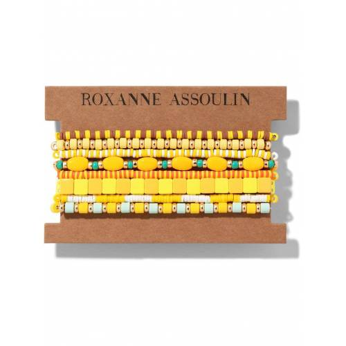 Roxanne Assoulin Color Therapy® Armband-Set - Gelb Female regular