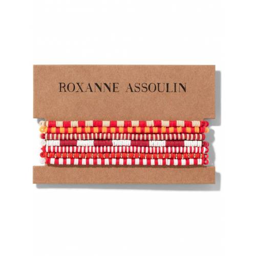 Roxanne Assoulin Color Therapy® Armband-Set - Rot Female regular