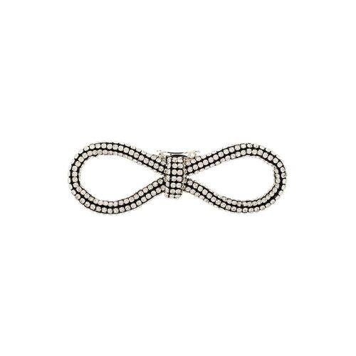 AREA Haarclip mit Kristallen - Metallisch Male regular