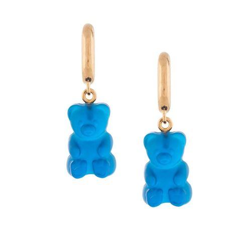 Balenciaga Ohrringe mit Gummibären - Blau Female regular