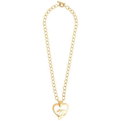 Chanel Pre-Owned 1995 Halskette mit CC-Logo - Gold Male regular