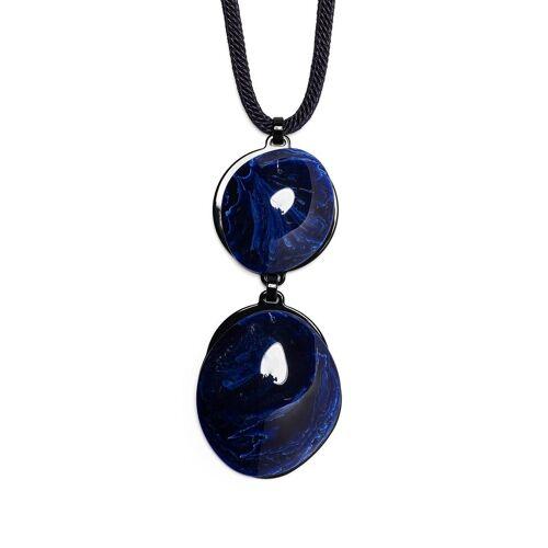 Giorgio Armani Statement Halskette - Blau Male regular