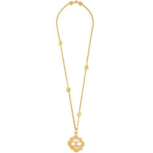 Chanel Pre-Owned 1995 CC-Halskette - Gold Male regular
