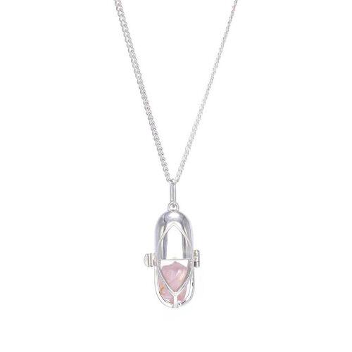Capsule Eleven Halskette mit Kristallanhänger - Silber Male regular