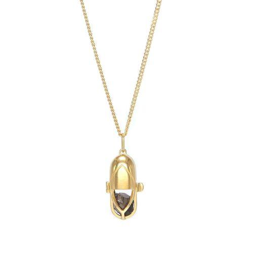 Capsule Eleven Halskette mit Kristallanhänger - Gold Female regular