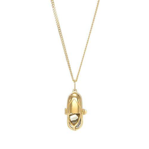Capsule Eleven Halskette mit Kristallanhänger - Gold Male regular