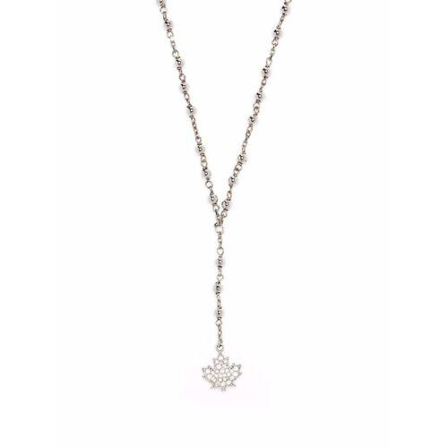 Dsquared2 Halskette mit Kristallanhänger - Silber Male regular