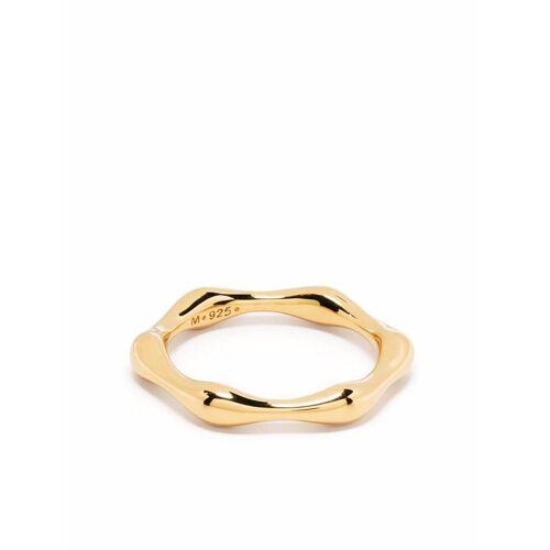 Missoma Schmaler Ring mit geschmolzenem Effekt - Gold Female regular