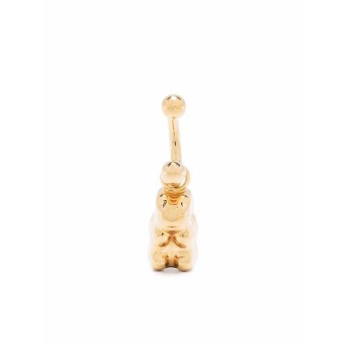 SAFSAFU Ohrringe mit Gummibären - Gold Unisex regular
