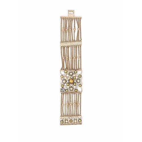 Chanel Pre-Owned 2005 Brosche mit Kristallen - Gold Male regular