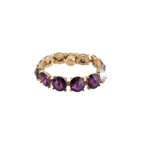Oscar de la Renta Armband mit Kristallen - Violett Male regular
