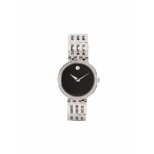 Movado Esperanza Armbanduhr mit Kristallen - Schwarz Male regular