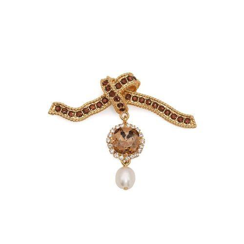 Erdem Brosche mit Kristallen - Gold Female regular