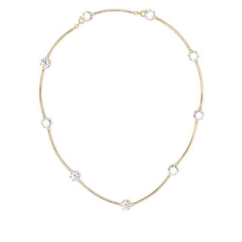 Swarovski Halskette mit Swarovski-Kristallen - Gold Female regular