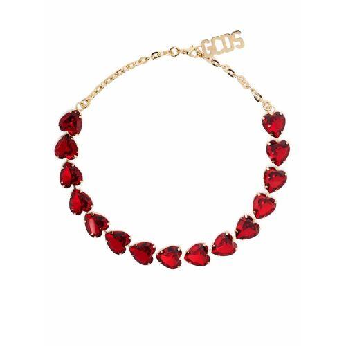Gcds Halskette mit Kristallen - Rot Female regular