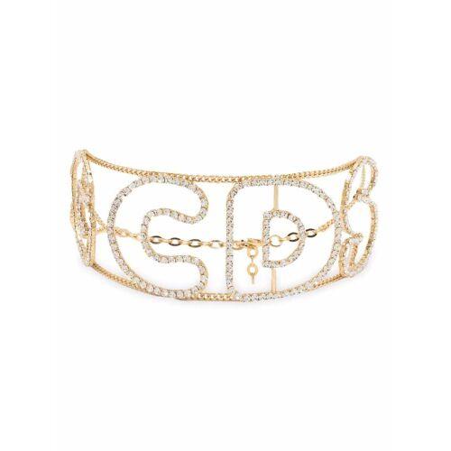 Gcds Halskette mit Kristallen - Weiß Male regular
