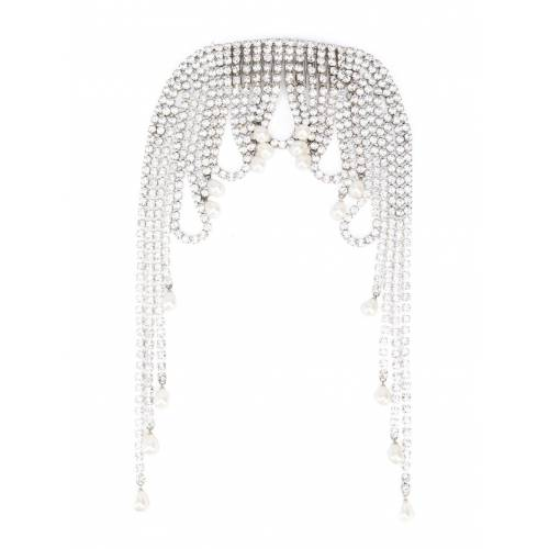 AREA Kopfschmuck mit Kristallen - Silber Male regular