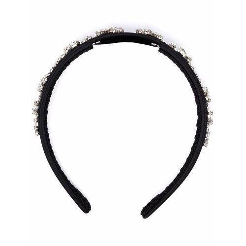 Erdem Haarreif mit Kristallen - Schwarz Unisex regular