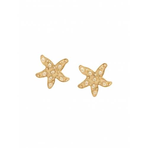 Versace Pre-Owned Ohrringe mit Clipverschluss - Gold Male regular