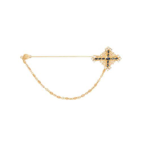 Dolce & Gabbana Anstecknadel mit Kristallen - Gold Female regular