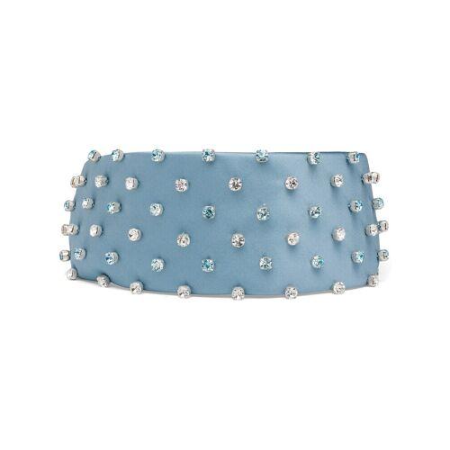 Prada Haarreif mit Kristallen - Blau Unisex regular