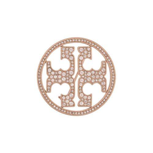 Tory Burch Brosche mit Kristallen - Rosa Female regular