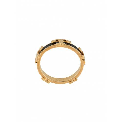 Tory Burch Emaillierter Ring - Gold Male regular