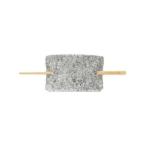 Balmain Haarspange mit Kristallen - Silber Female regular