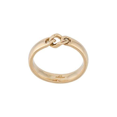 Bunney Ring mit verschlungenem Design - Gold Male regular