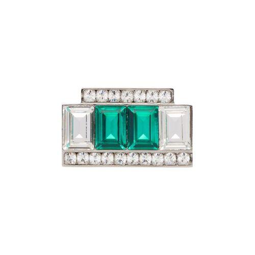 Miu Miu Brosche mit Kristallen - F0ZM0 Male regular