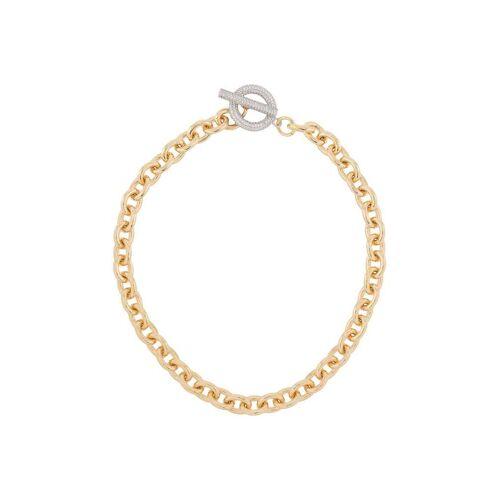 NUMBERING Halskette mit Pavé - Gold Female regular