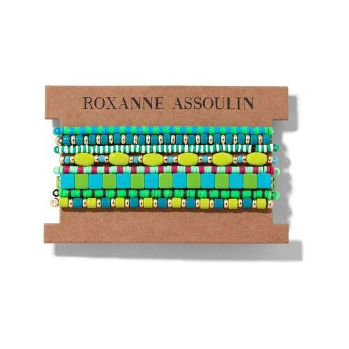 Roxanne Assoulin Color Therapy® Armband-Set - Grün Male regular