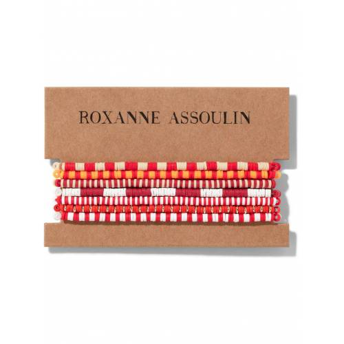 Roxanne Assoulin Color Therapy® Armband-Set - Rot Male regular