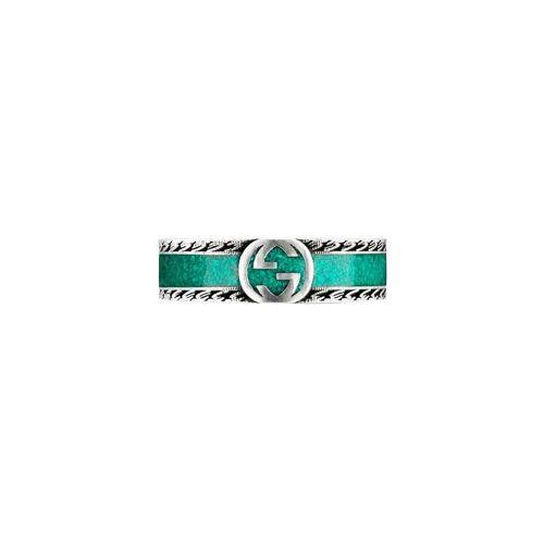 Gucci Ring mit verschlungenem GG - Silber Female regular