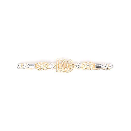 Dolce & Gabbana Haarspange mit Kristallen - Gold Female regular