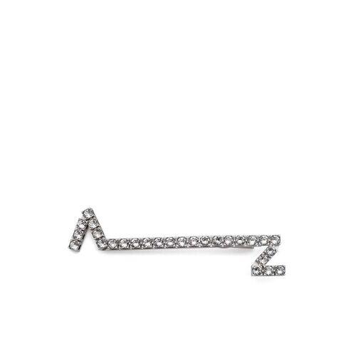 AZ FACTORY AZ Haarspange mit Kristallen - Silber Male regular